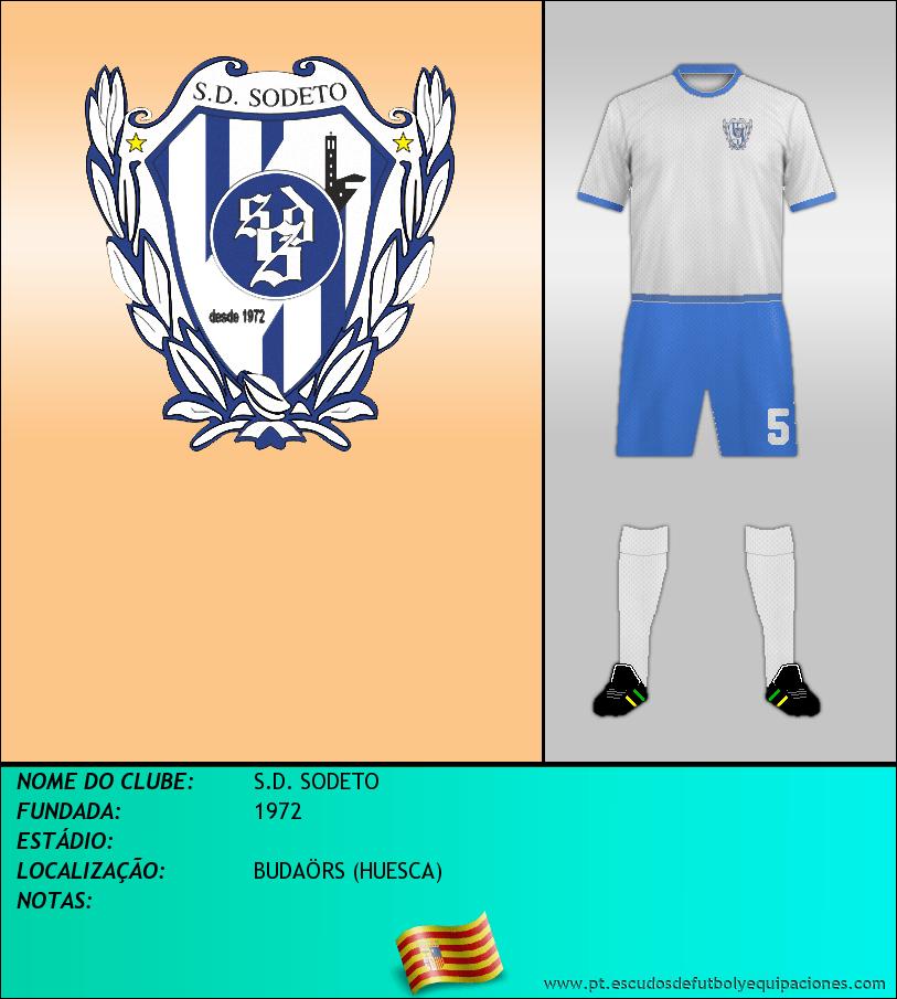 Escudo de S.D. SODETO