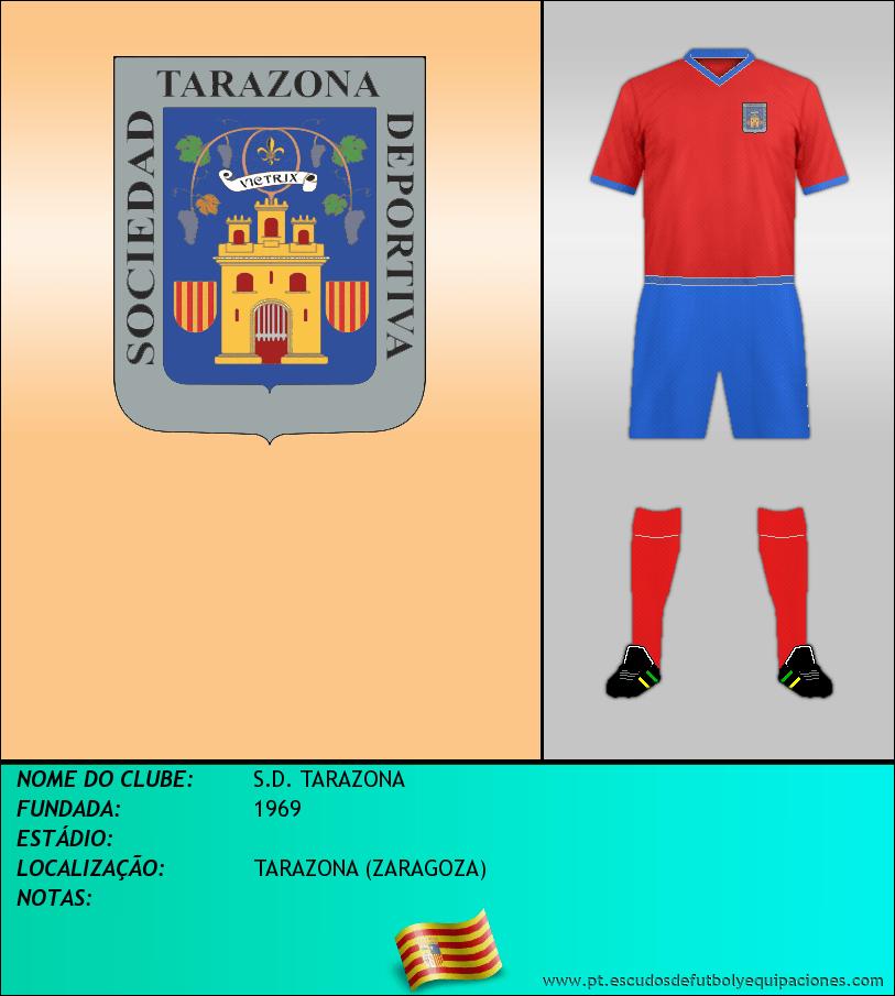 Escudo de S.D. TARAZONA