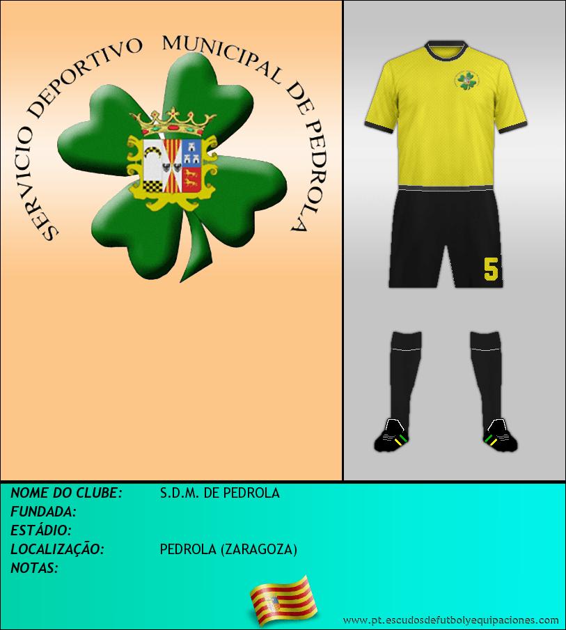 Escudo de S.D.M. DE PEDROLA