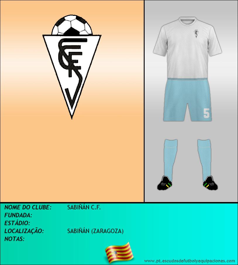 Escudo de SABIÑÁN C.F.