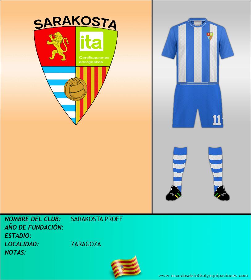Escudo de SARAKOSTA PROFF