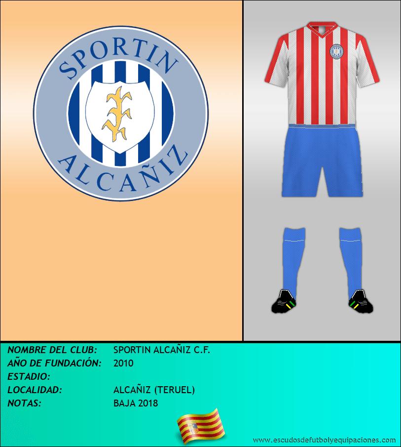 Escudo de SPORTIN ALCAÑIZ C.F.