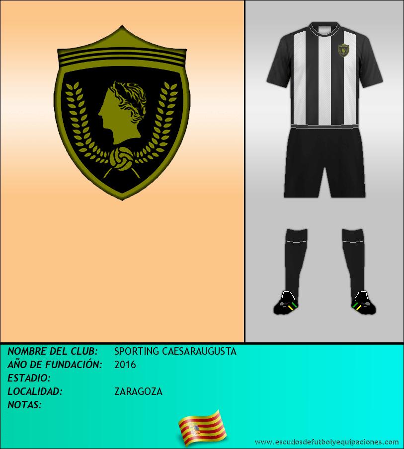 Escudo de SPORTING CAESARAUGUSTA