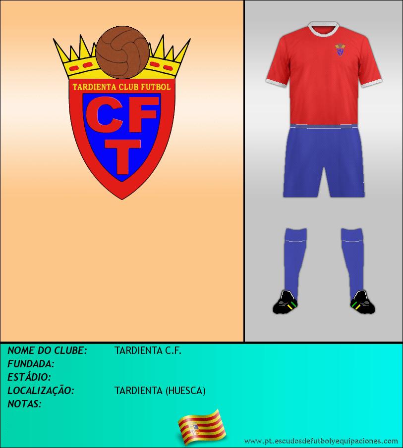 Escudo de TARDIENTA C.F.