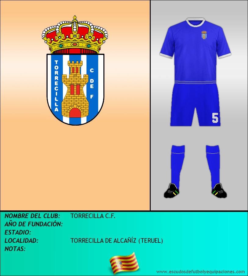 Escudo de TORRECILLA C.F.