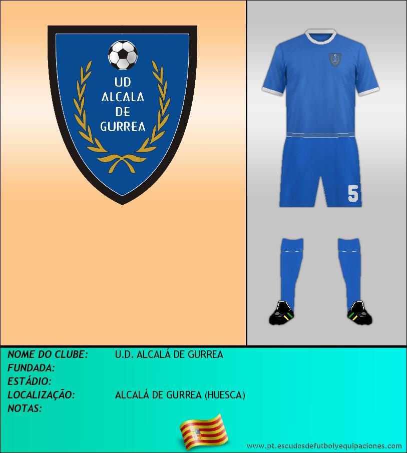Escudo de U.D. ALCALÁ DE GURREA