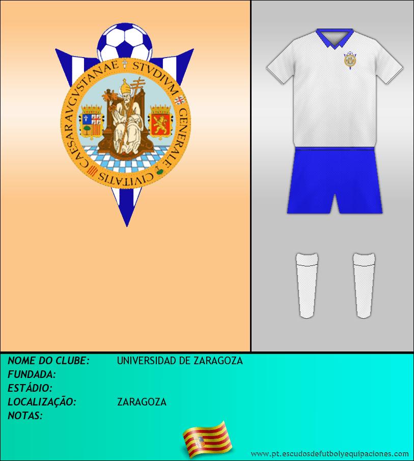 Escudo de UNIVERSIDAD DE ZARAGOZA