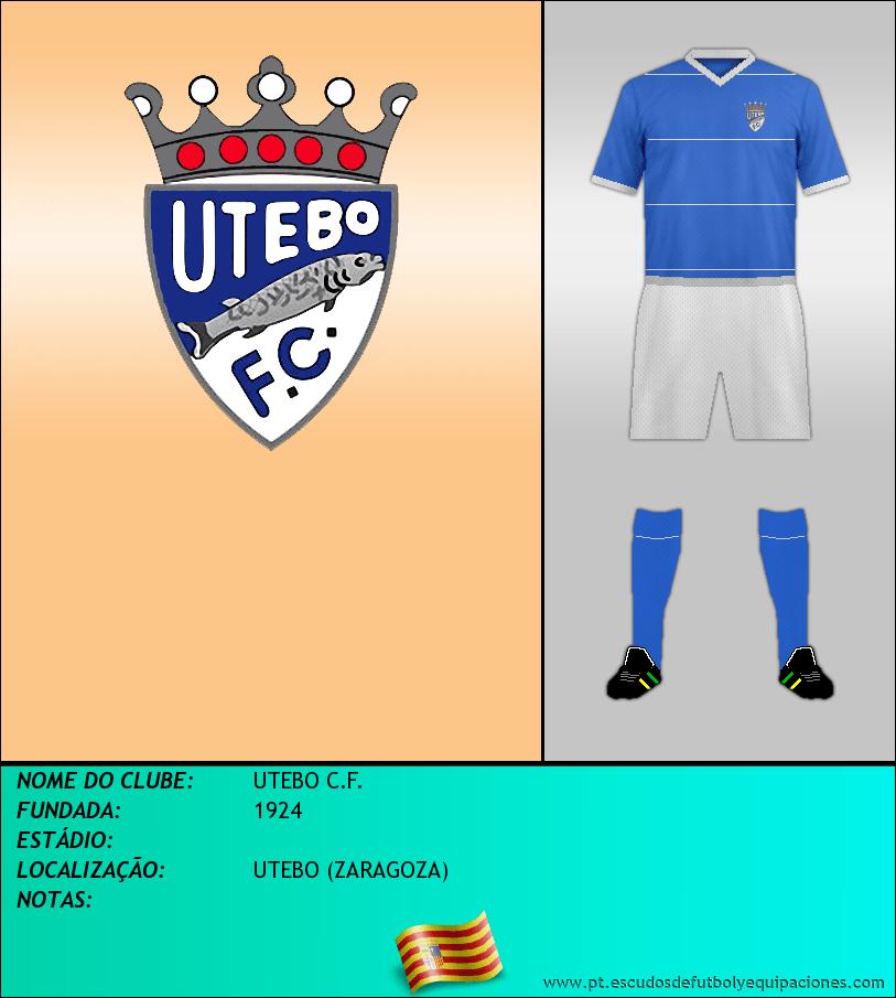 Escudo de UTEBO C.F.