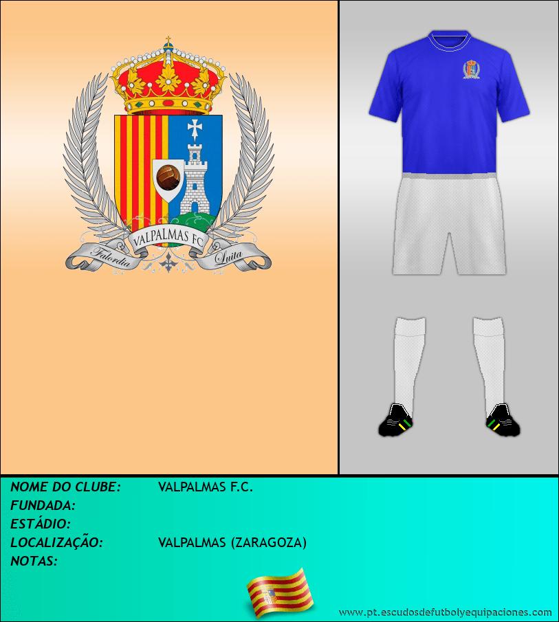 Escudo de VALPALMAS F.C.