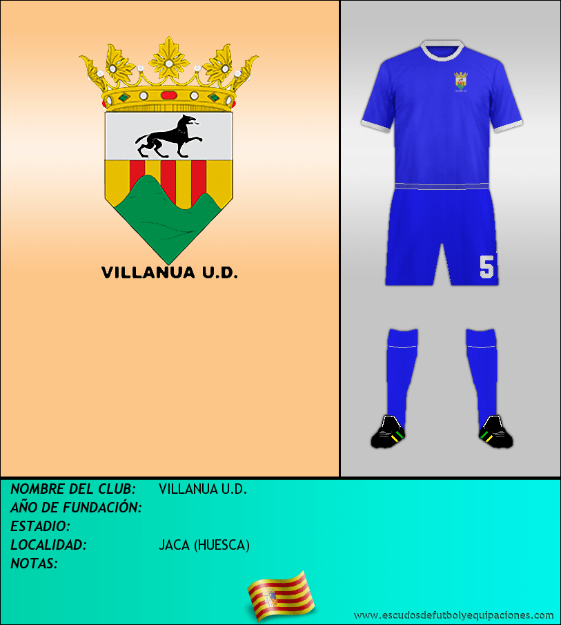Escudo de VILLANUA U.D.