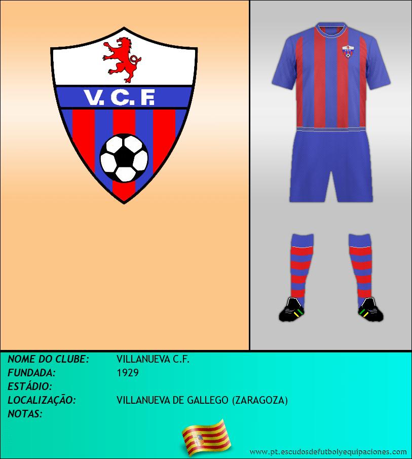Escudo de VILLANUEVA C.F.