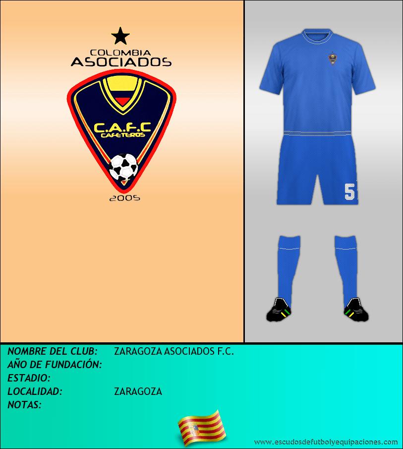 Escudo de ZARAGOZA ASOCIADOS F.C.