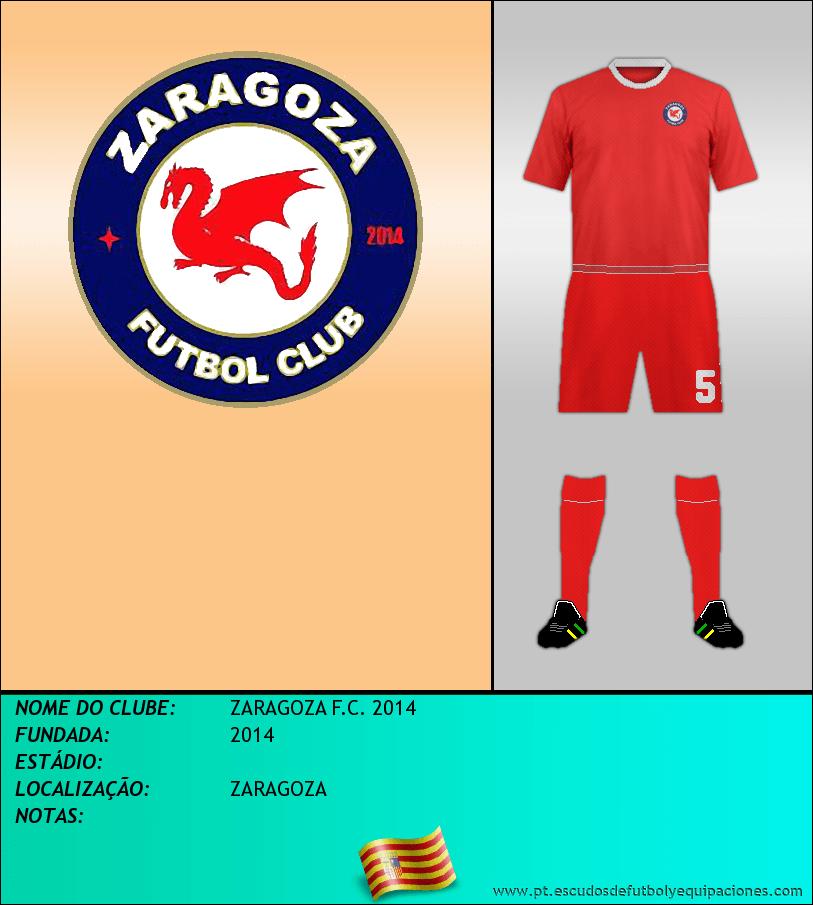Escudo de ZARAGOZA F.C. 2014