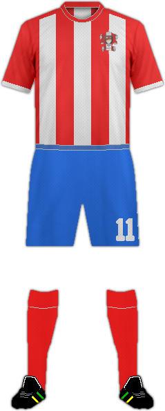 Camiseta ARGUERO C.F.