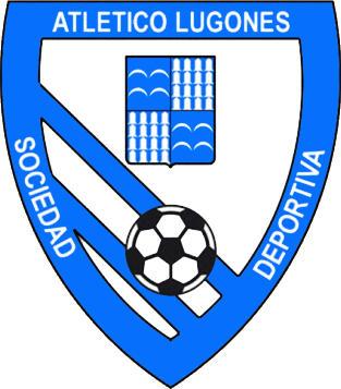 Escudo de ATLETICO LUGONES S.D. (ASTÚRIAS)