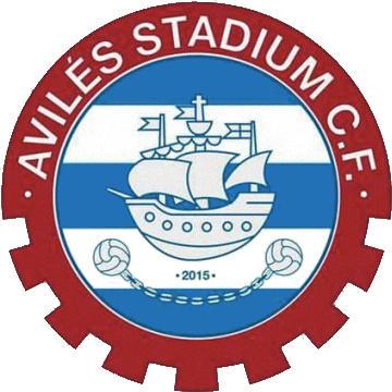 Escudo de AVILÉS STADIUM C.F. (ASTURIAS)