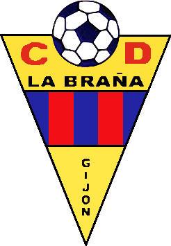 Escudo de C.D. LA BRAÑA (ASTURIAS)