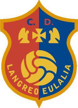 Escudo de C.D. LANGREO EULALIA (ASTÚRIAS)