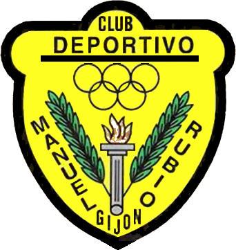 Escudo de C.D. MANUEL RUBIO (ASTÚRIAS)