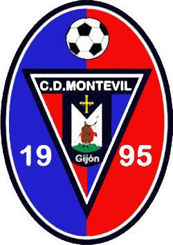 Escudo de C.D. MONTEVIL (ASTURIAS)