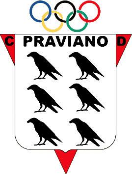 Escudo de C.D. PRAVIANO (ASTÚRIAS)