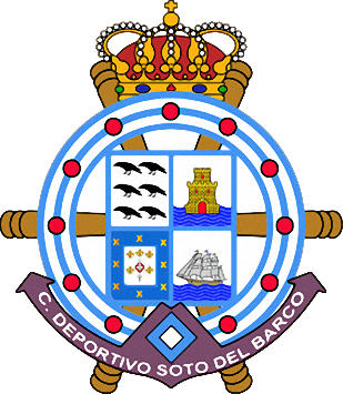 Escudo de C.D. SOTO DEL BARCO (ASTURIAS)