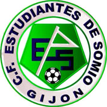 Escudo de C.F. ESTUDIANTES DE SOMIO (ASTURIAS)