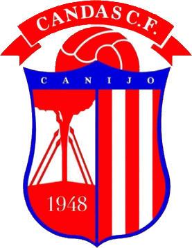 Escudo de CANDAS CF (ASTURIAS)