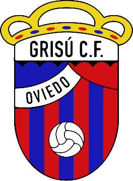 Escudo de GRISÚ C.F. (ASTURIAS)