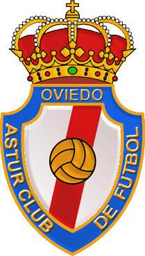 Escudo de OVIEDO ASTUR CF (ASTURIAS)