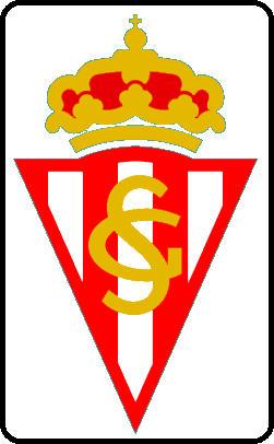 Escudo de REAL  SPORTING DE GIJON (ASTURIAS)