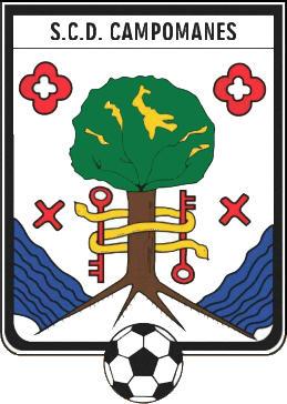 Escudo de S.C.D. CAMPOMANES (ASTÚRIAS)