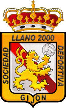 Escudo de S.D. LLANO 2000 (ASTURIAS)