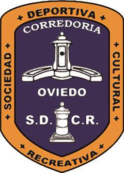 Escudo de S.D.C.R. LA CORREDORÍA (ASTURIAS)
