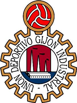 Escudo de U.D. GIJON INDUSTRIAL (ASTURIAS)