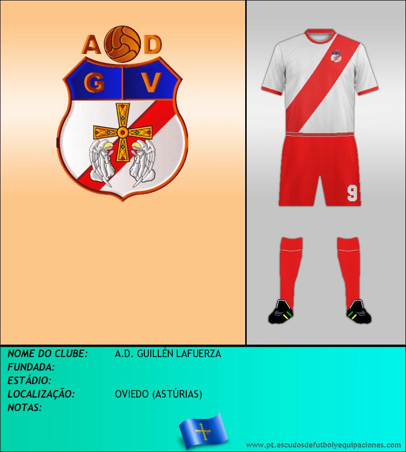 Escudo de A.D. GUILLÉN LAFUERZA