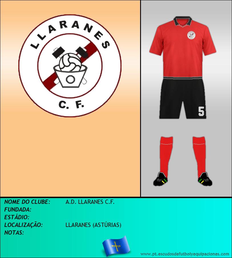 Escudo de A.D. LLARANES C.F.