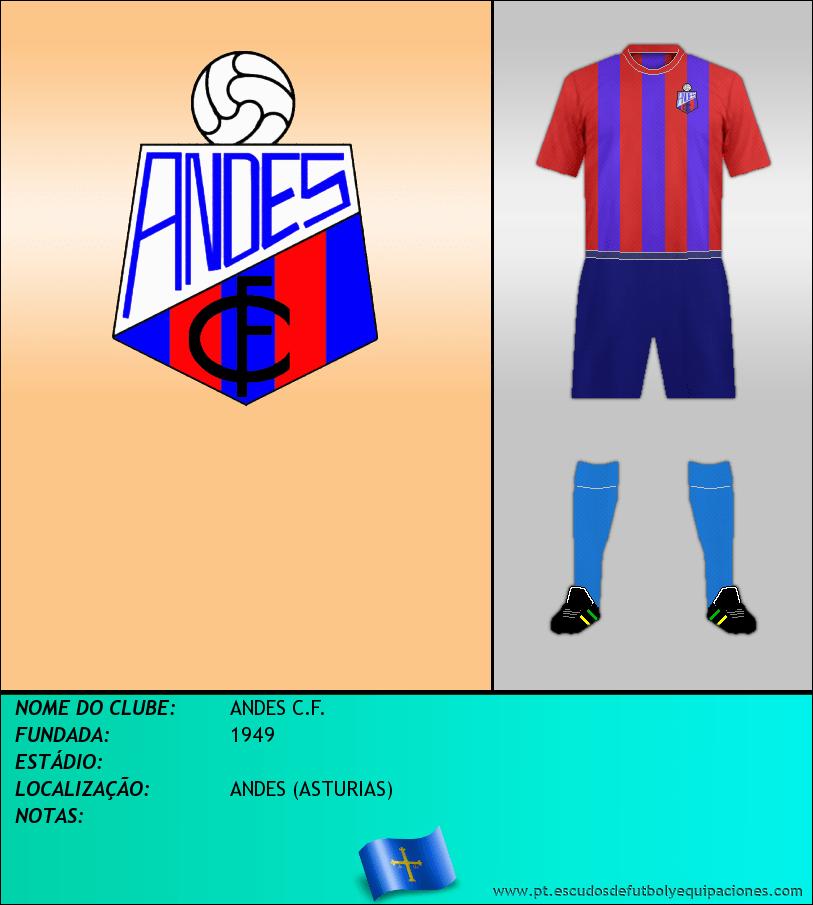 Escudo de ANDES C.F.