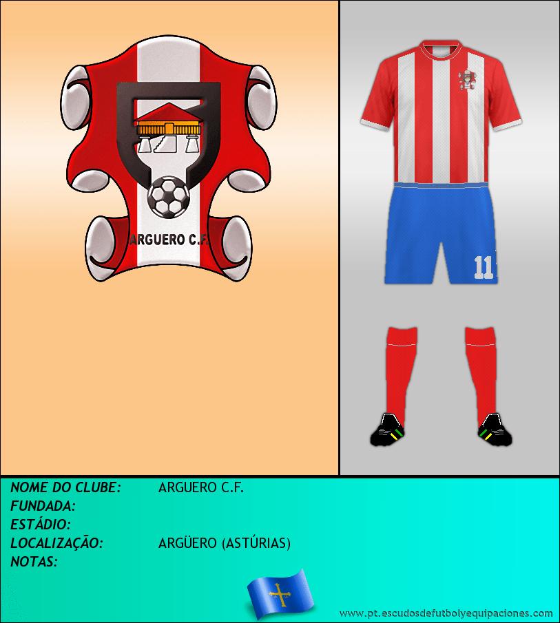 Escudo de ARGUERO C.F.