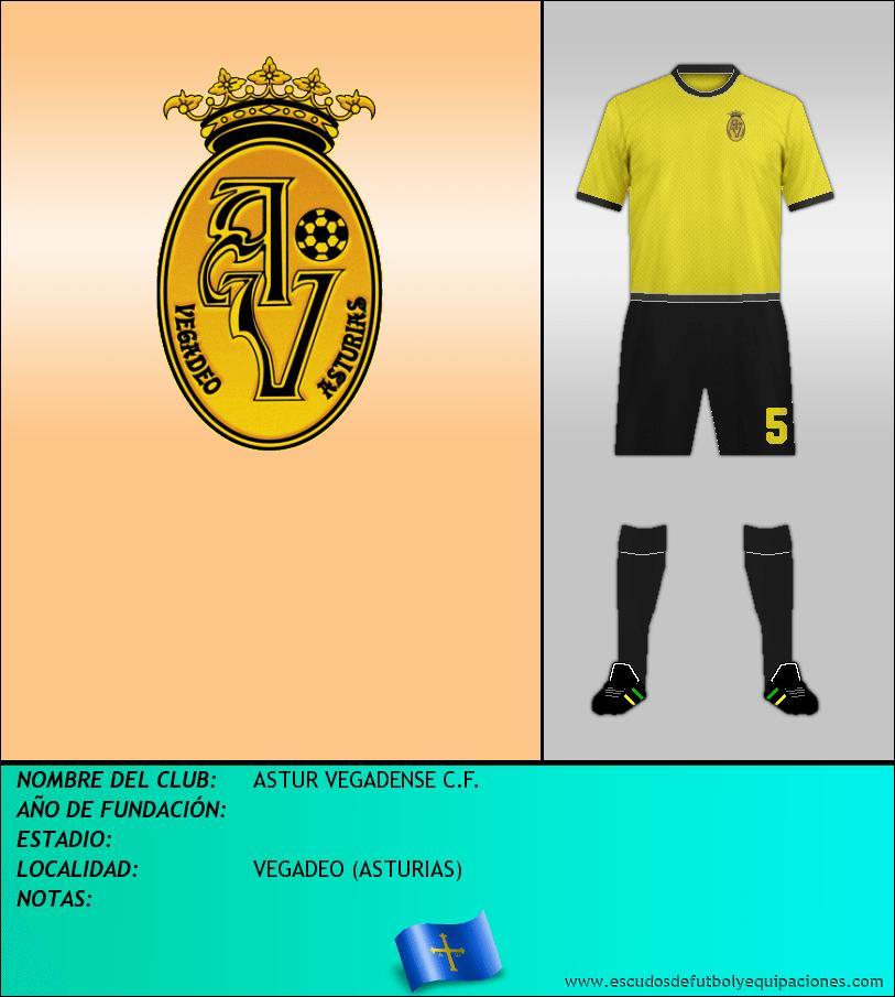 Escudo de ASTUR VEGADENSE C.F.