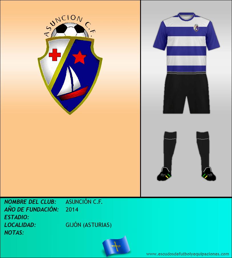 Escudo de ASUNCIÓN C.F.