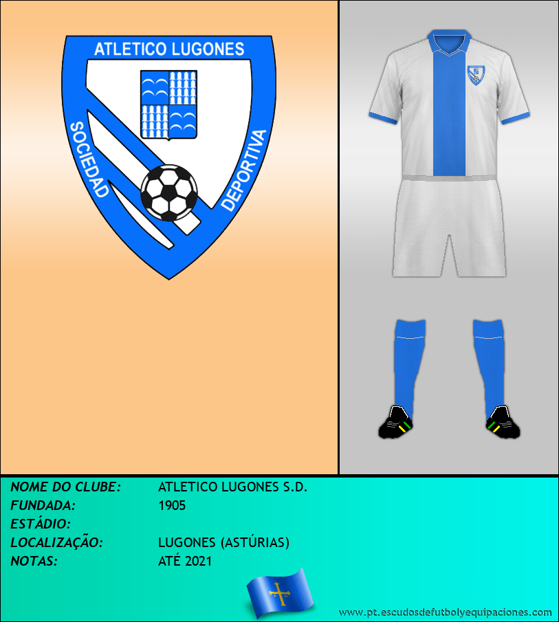 Escudo de ATLETICO LUGONES S.D.
