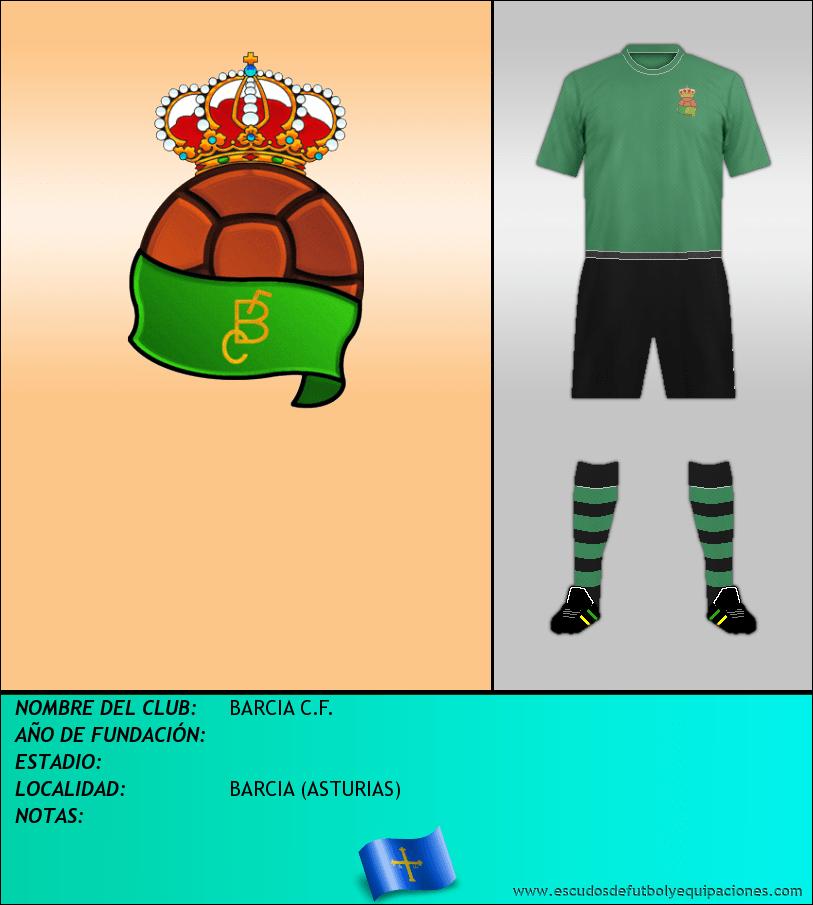 Escudo de BARCIA C.F.
