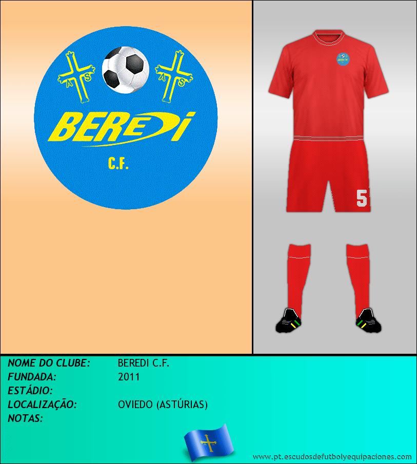 Escudo de BEREDI C.F.