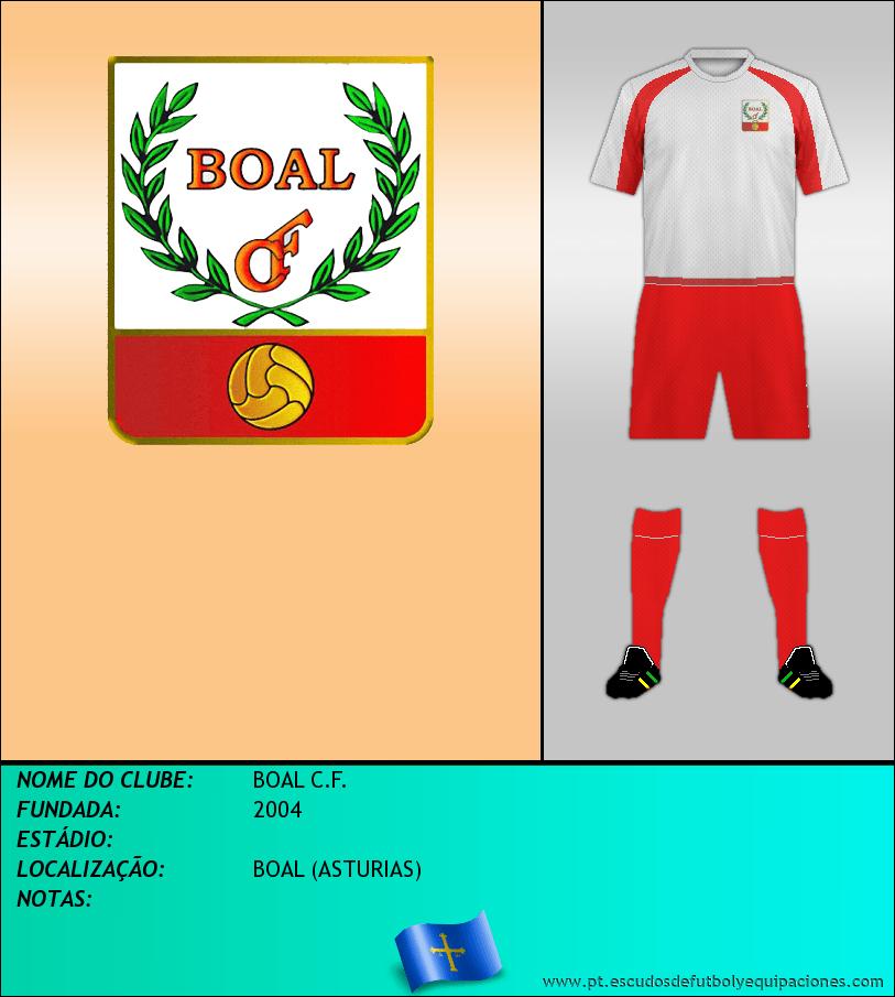 Escudo de BOAL C.F.