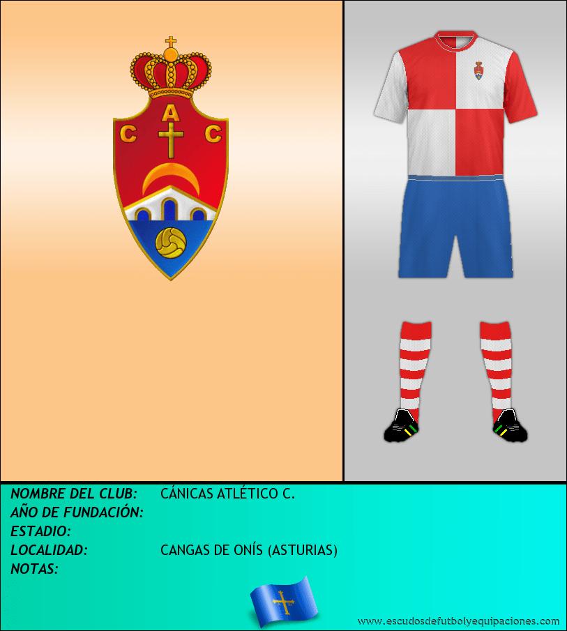 Escudo de CÁNICAS ATLÉTICO C.