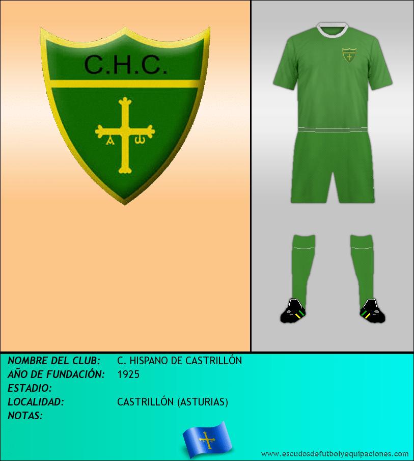 Escudo de C. HISPANO DE CASTRILLÓN