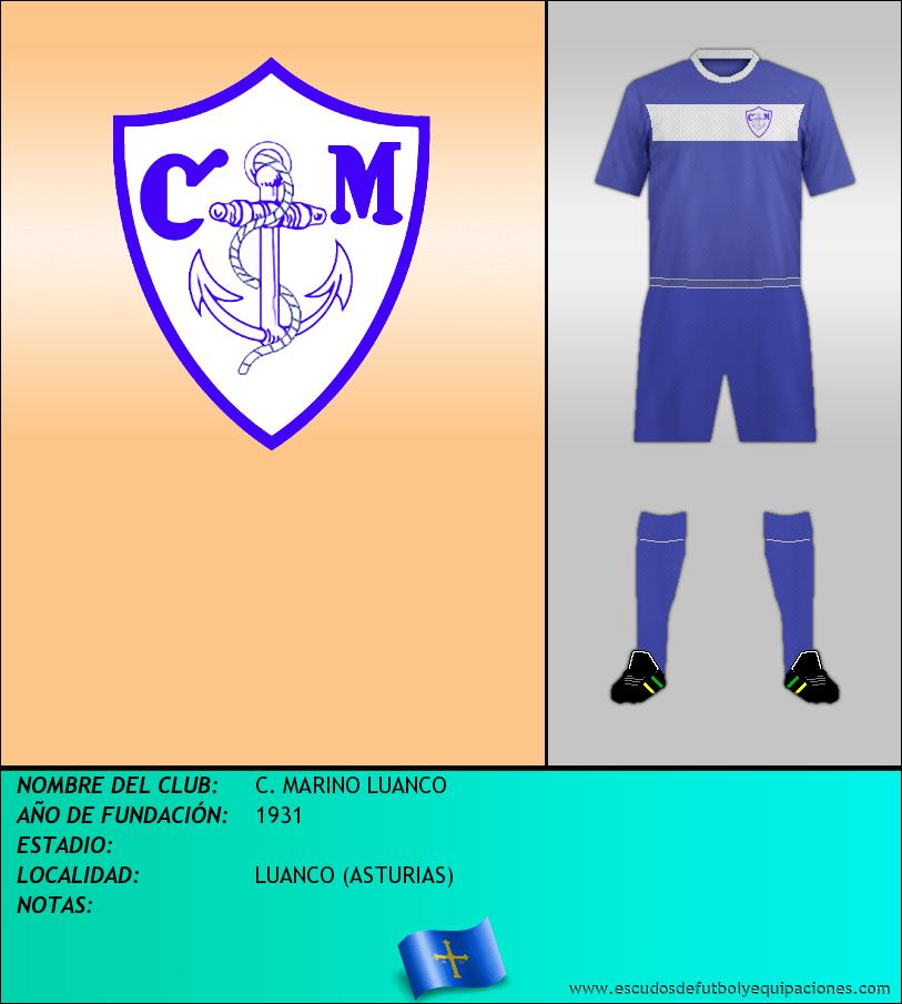 Escudo de C. MARINO LUANCO