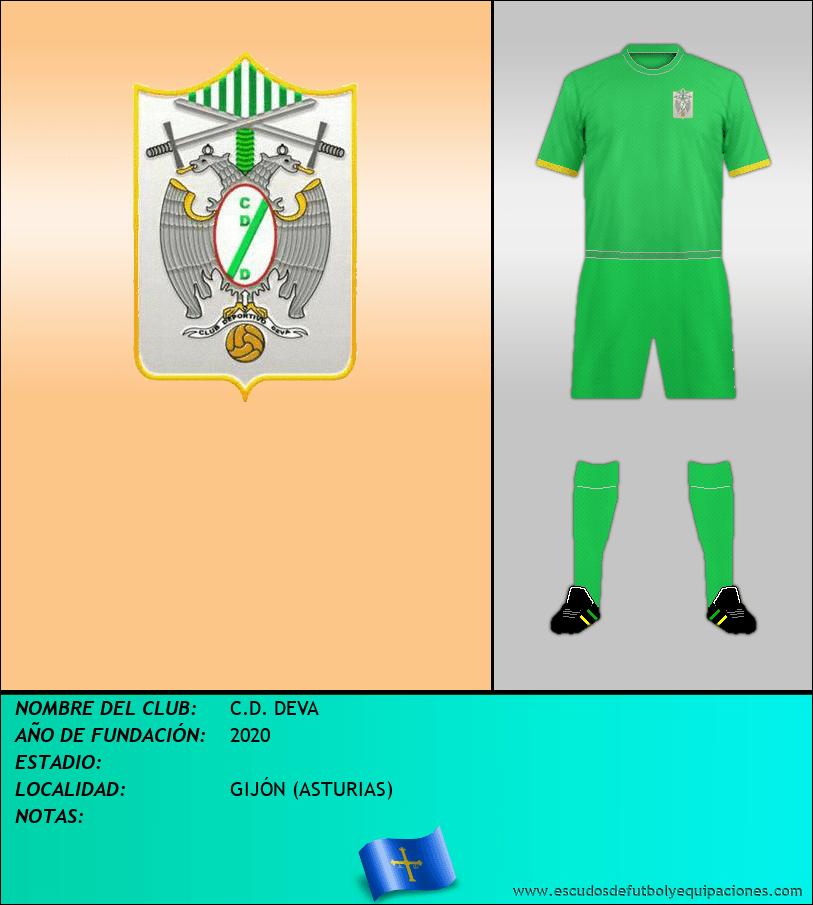 Escudo de C.D. DEVA