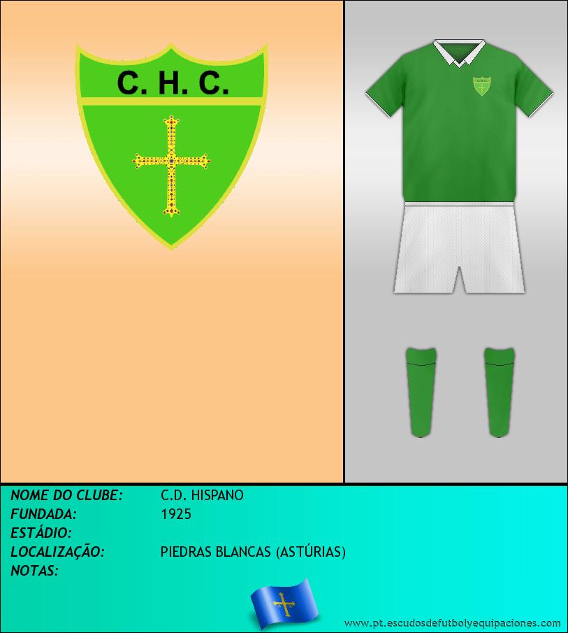 Escudo de C.D. HISPANO